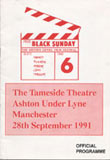Black Sunday 6 programme front cover