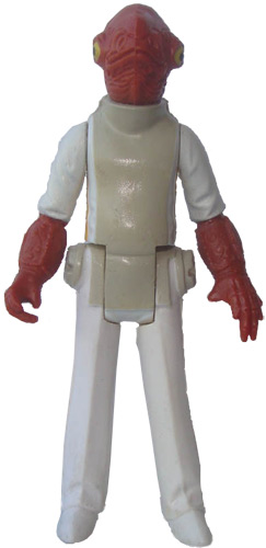 Admiral Ackbar vintage Return of the Jedi action figure