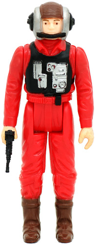 B-Wing Pilot vintage Return of the Jedi action figure
