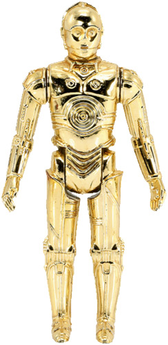 See-Threepio (C-3PO) vintage Star Wars action figure