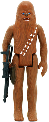 Chewbacca vintage Star Wars action figure