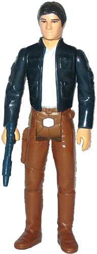 Han Solo vintage Star Wars action figure