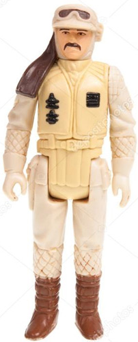 Rebel Commander vintage The Empire Strikes Back action figure