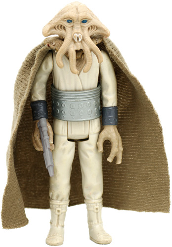 Squid Head vintage Return of the Jedi action figure